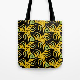 Wild Horses 2 pattern by Amanda Martinson Tote Bag