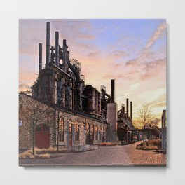 Industrial Landmark Metal Print