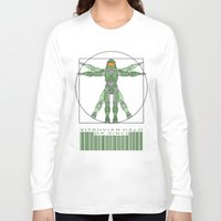halo Long Sleeve T-shirts featuring vitruvian Halo by tshirtsz
