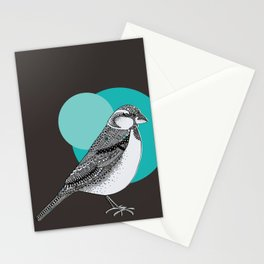 Sparrow Stationery Cards