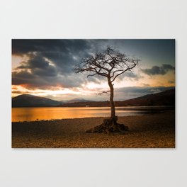 Bonny Banks Sunset Canvas Print