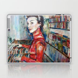 vinyl vintage Laptop & iPad Skin