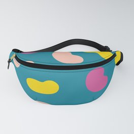 Jelly Beans | Colorful Pattern | Happy Colors | pulps of wood Fanny Pack