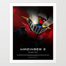 mazinger fan art Art Print