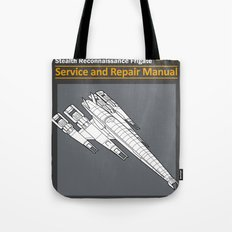 Normandy SR-2 Cerberus Service and Repair Manual Tote Bag