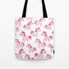 watercolor unicorns Tote Bag