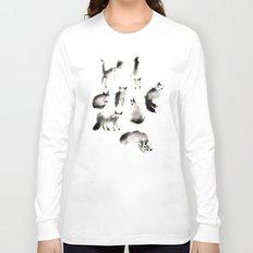 Cats Study Long Sleeve T-shirt