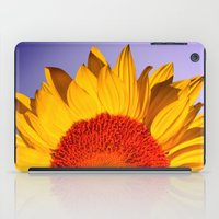 sunflowers iPad Cases featuring sunflowers by mark ashkenazi