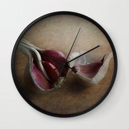 Garlic Wall Clock