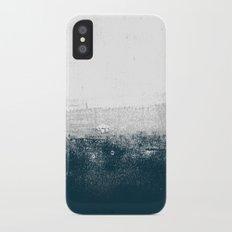 Ocean No. 1 - Minimal ocean sea ombre design  iPhone X Slim Case