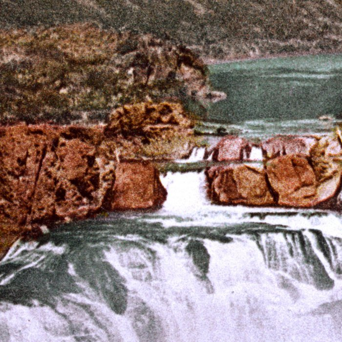 Shoshone Falls, Snake River, Idaho, 1898 Leggings