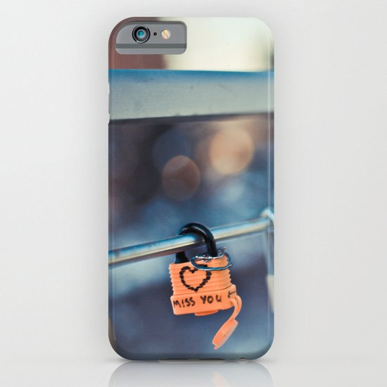 Miss You iPhone & iPod Case