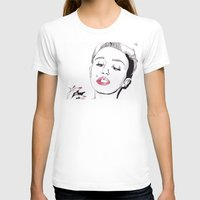 miley cyrus T-shirts featuring Miley Cyrus by ☿ cactei ☿