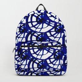 Shibori Curly Maze Backpack