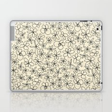 garland flowers ivory Laptop & iPad Skin