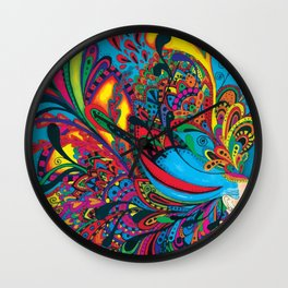 Color party Wall Clock