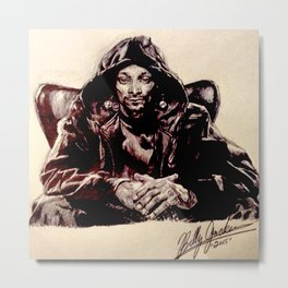 Snoop Doggy Dogg Metal Print