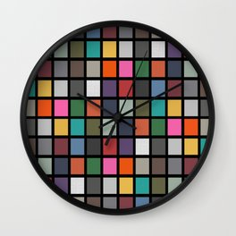 colour me Wall Clock