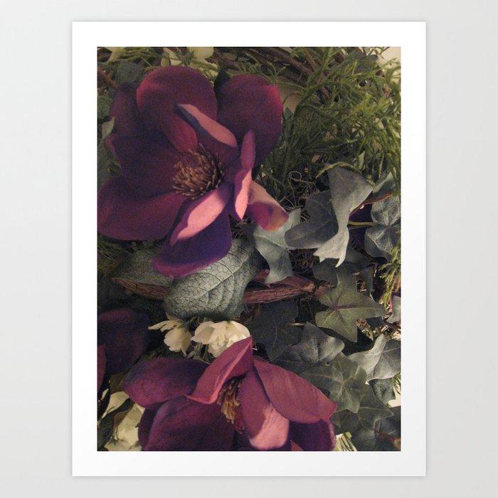 Wreath Photo Art Print