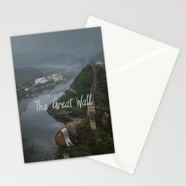 A different view of The Great Wall of China Stationery Cards