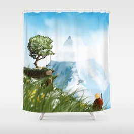 The Vault Shower Curtain