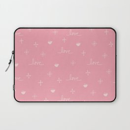 Love and Such - pink Laptop Sleeve