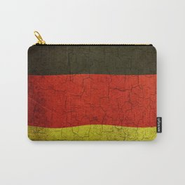 Cracked Germany flag Carry-All Pouch