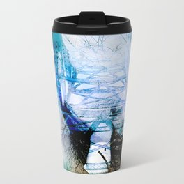Winter Bridge Metal Travel Mug