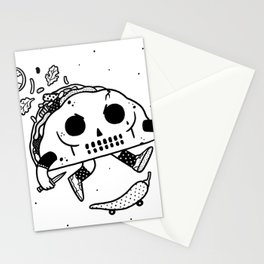 Al Pastor chili-flip Stationery Cards