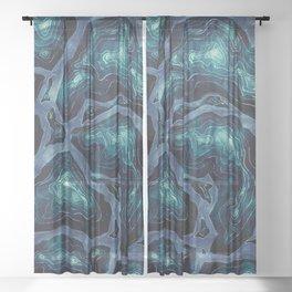 terra (variant 2) Sheer Curtain