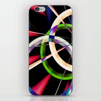 circles iPhone & iPod Skins featuring circles by haroulita