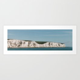 The Cliffs at Dover Art Print