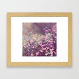 Pretty Little Things Framed Art Print