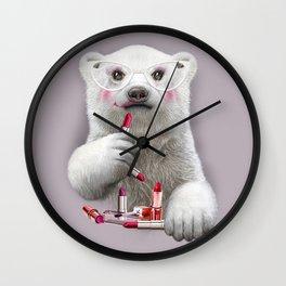 PAULA LIPSTICK Wall Clock