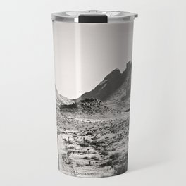 The Lost Highway III Black & White Travel Mug
