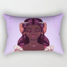 Crown Princess of the Isle Rectangular Pillow
