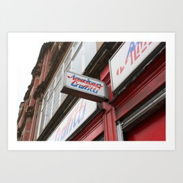 Northern Quarter. Art Print