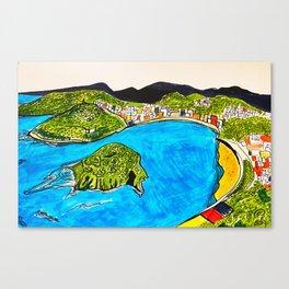 Donosti Canvas Print