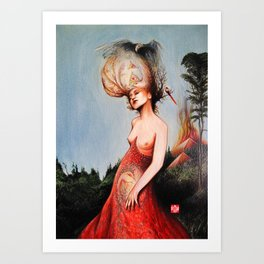 HUMAN FORM DEVINE / no 6 Art Print