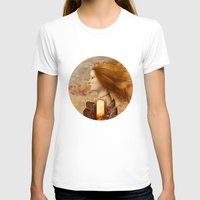 fez T-shirts featuring Persephone by Diogo Verissimo