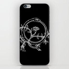 White Ouroborous  iPhone Skin