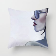 Eyewear Fashion Victim Throw Pillow