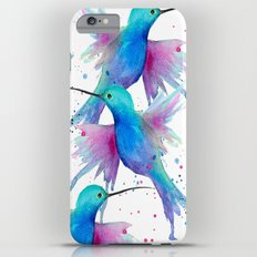 Hummingbird watercolor  iPhone 6s Plus Slim Case