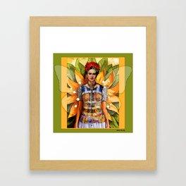 FRIDA KAHLO MARIPOSA Framed Art Print