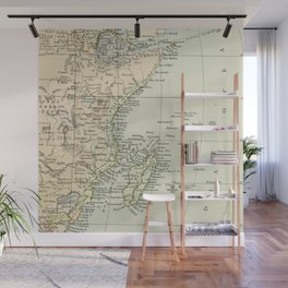Vintage Map of Africa Wall Mural