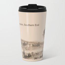 Lake Champlain 1850 (sepia) Travel Mug