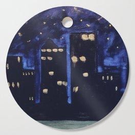 Haute Blue Night Cutting Board