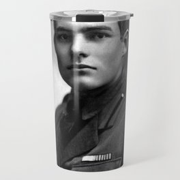 Ernest Hemingway in Uniform, 1918 Travel Mug