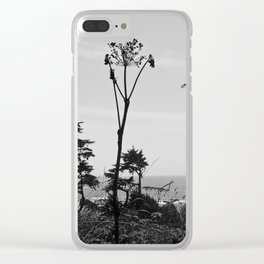 Wild Dill Clear iPhone Case