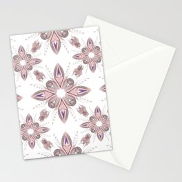 Pink art Deco Stationery Cards